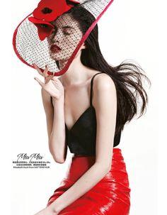 Sui He Models Miu Mi, Harpers Bazaar China, March Photos by: Mei Yuan Gui. Harpers Bazaar, Helmut Lang, Missoni, Jean Paul Gaultier, Love Fashion, Fashion Models, Hippie Fashion, Fashion Shoot, Dior