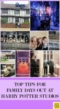 10 Tips for days out at the Harry Potter Studios Tour
