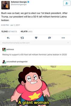 Omg that's actually me-giant feminista Latina lesbian lol Funny Videos, Funny Memes, Hilarious, James Madison, John Adams, Thomas Jefferson, Tumblr Stuff, Tumblr Posts, Geeks