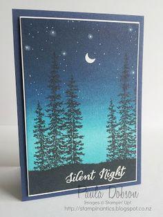 Wonderland stamp set from Stampin' Up - Stampinantics: SILENT NIGHT, STARRY NIGHT