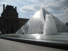 The Louvre in Paris, France.