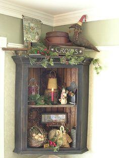 Love this corner shelf!!!