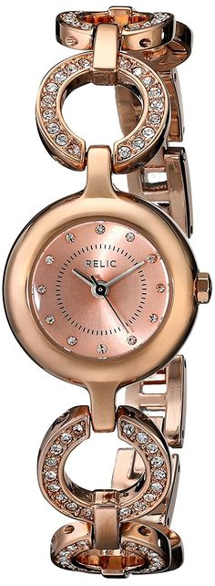 Relic by Fossil Women's Scarlet Analog Display Analog Quartz Rose Gold Watch Relic Watches, Scarlet, Michael Kors Watch, Gold Watch, Fossil, Quartz, Rose Gold, Display, Crystals