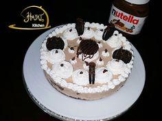 تشيز كيك اوريو ونوتيلا Cheesecake Oreo Nutella | Hayat's Kitchen
