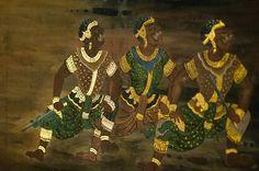 罗摩衍那壁画局部 泰国 曼谷 玉佛寺 罗摩衍那壁画局部 泰国 曼谷 玉佛寺 The part of Ramayana mural The part of Ramayana mural paintings, Temple of the Emerald Buddha, Bangkok, Thailand paintings, Temple of the Emerald Buddha, Bangkok, Thailand