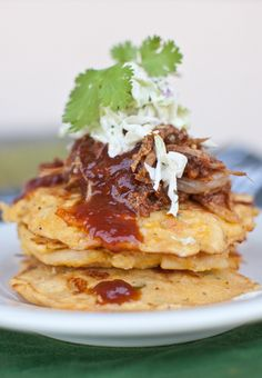 Jalapeno Mac & Cheese Griddle Cakes3