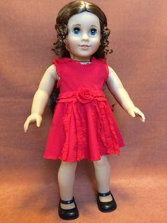 Hermione Granger Ruffled Red Dress by DressMeMagic on Etsy
