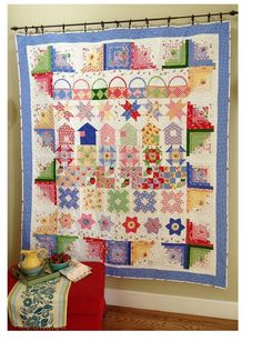 Berry Fun Row By Row QUilt by FredasHive on Etsy. $8.00 USD, via Etsy.