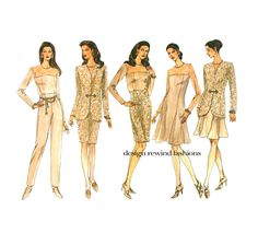 VOGUE #JACKET PANTS Skirt Top Dress #Patterns Cocktail Dress #Vogue 1516 Mother o,  View more on the LINK: http://www.zeppy.io/product/gb/3/245007257/