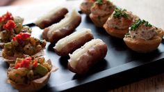 Mini Bangers And Mash Canapés Recipe