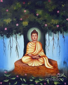 Title: Gautam Buddha (Handmade Oil Painting) Medium: Oil on Canvas Size: X Year: 2008 Framed: Yes Price: Rs. 25000 Available For Sale: Yes Buddha Kunst, Buddha Art, Buddha Painting, Krishna Painting, 3d Canvas Art, Canvas Size, Painting Canvas, Mahatma Buddha, Spiritual Paintings
