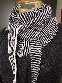 """designstrik.dk: Tørklæder og """"navne"""" på dem Knit Cowl, Knit Crochet, Hobbies And Crafts, Knitting Patterns, Scarves, How To Make, How To Wear, Sweaters, Blog"""