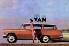 Nissan Cedric Van c.1960 - Atomic Samba.