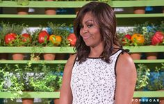 Pin for Later: The Sweetest Part of Michelle Obama's Dress Is What Makes It Right on Trend
