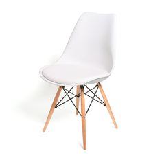 Billig Designer Stuhl Weiß