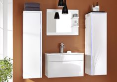 Modern Vanity 2 Modern Vanity, Modern Bathroom, Bathroom Furniture, Bathroom Medicine Cabinet, Lights, Mirror, Design, Home Decor, Highlight