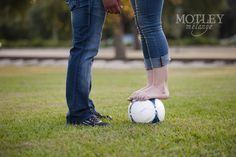 soccer engagement photos