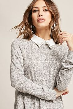 COLLAR SWEATER | Forever 21