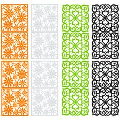 Filigree Décor Screen Panels