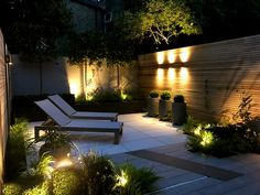 Cat Howard Garden Design Clapton, Garden light Lighting scheme London