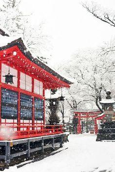 Snow In Japan, Winter In Japan, Go To Japan, Beautiful Places In Japan, Beautiful Places To Visit, Japan Landscape, Winter Landscape, Japan Travel Photography, Tokyo Japan Travel