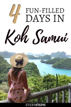 Traveling for 4 days in Koh Samui? This Koh Samui itinerary will show you the best things to do in Koh Samui and where to stay in Koh Samui. Thailand Travel, Asia Travel, Thailand Honeymoon, Thailand Adventure, Kho Samui, Thai Islands, Pretty Beach, Travel Route, Koh Tao