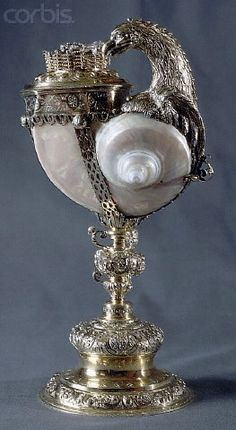 Shell Mounted in Silver by Jacob Frick
