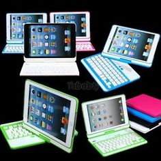Swivel Rotary Wireless Bluetooth Keyboard Cover Case with Stand for iPad Mini | eBay