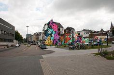 mural stationstraat Heerlen