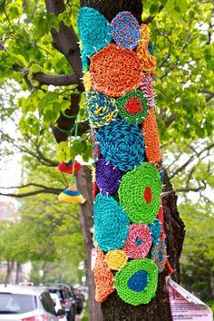Around Here: Tree Sweaters - Aunt Peaches