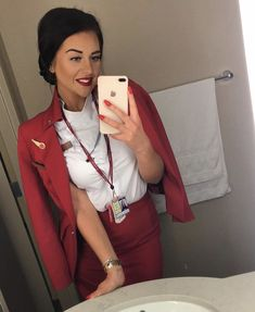 Sensible Shoes, Virgin Atlantic, Cabin Crew, Flight Attendant, These Girls, New York, Stylish, Sexy, How To Wear