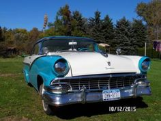 1956 Ford Victoria 2DR HT for sale (NY) - $17,900  Please call Charlie at 585-343-3809 to see this Victoria.
