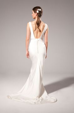 Come see and try on the beautiful and exclusive wedding dresses by Theia Couture Bridal in the heart of Downtown Portland, Oregon at Ania Bridal! White Wedding Gowns, White Gowns, Bridal Wedding Dresses, Wedding Bells, Elegant Dresses For Women, Fabulous Dresses, Formal Dresses, Theia Bridal, Allure Bridal