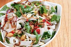 Vietnam Noodle Salad  You can find the recipe on the following link : http://www.taste.com.au/recipes/26975/vietnamese+noodle+salad