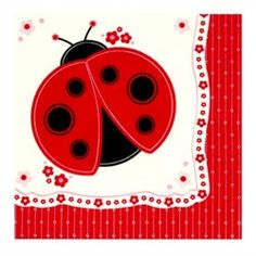 Ladybug napkin | Fun Stuff To Do