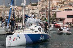 Gaetano a Bordo di Italia pronto ad uscire dal porto di Cagliari