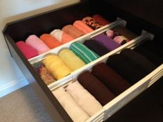 How to Organize Tank Tops