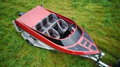 Free Plans For Boat Building Small Jet Boats, Jets, Barca News, Shallow Water Boats, Boat Projects, Cool Boats, Aluminum Boat, Boat Stuff, Water Toys