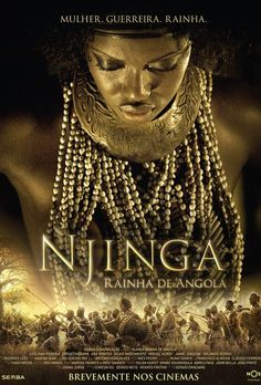 Njinga, Queen of Angola is an essential film to see, and despite having excellent production very few people throughout the African Diaspora have had a chance to view this amazing film. Njinga, Queen of Angola also known as Njinga, Rainha de Angola is the story of the Warrior-Queen Nzinga Mbemba of Ndongo and Matamba. He film was debut in Angola, August 19, 2012 and released in theaters November 29th, 2013. | For more information about this critical film visit: http://www.rainhanjinga.co.ao/