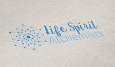 De Nouvelles Creations Pour Severine Et Jean Christophe Minni Les Fondateurs Life Spirit Alchemists Qui Nous Ont Confie Leur Identite Logo Carte