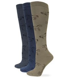 Adult Hand Pattern Cushion Crew Socks