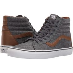 63f07b40df Vans hi reissue leather dachshund potting soil