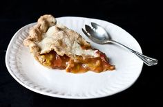 Anne Dimock's Straight-Up Rhubarb Pie, a recipe on Food52