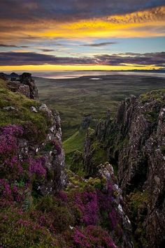 Garden of the Gods Isle of Skye - the beauty of Scottish Highlands and islands is the main inspiration behind all of our products! www.skyecandles.co.uk #skyecandles #isleofskye #inspiration