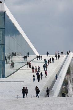 Oslo opera by helipix repinned by www.smg-treppen.de #smgtreppen