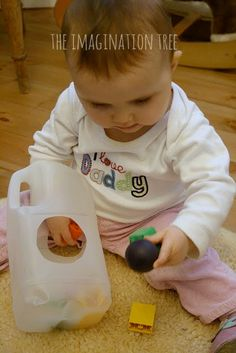 15 Fine Motor Activities for Babies -- The Imagination Tree