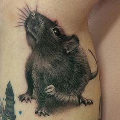 Stunning tattoo by Rachel Honeywell!