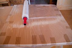 package shipping large painting