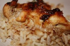 Mmm...Cafe: Sticky Coconut Chicken