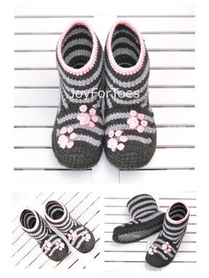 Hey, I found this really awesome Etsy listing at https://www.etsy.com/ru/listing/162097593/crochet-boots-slippers-for-home-woman